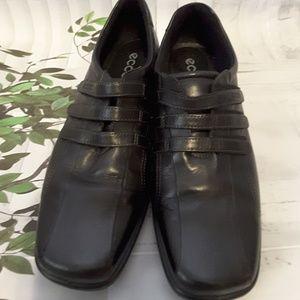 ECCO light 3 Velcro strap black loafer size 42